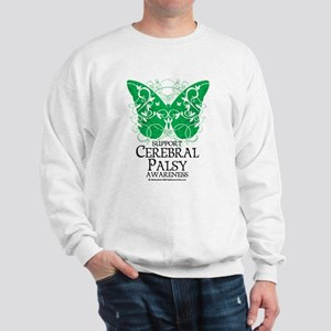 Cerebral Palsy Butterfly 2 Sweatshirt