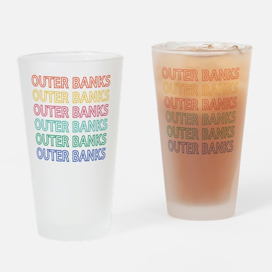 Cute Outer banks nc Drinking Glass