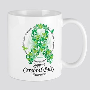 Cerebral Palsy Ribbon of Butt Mug