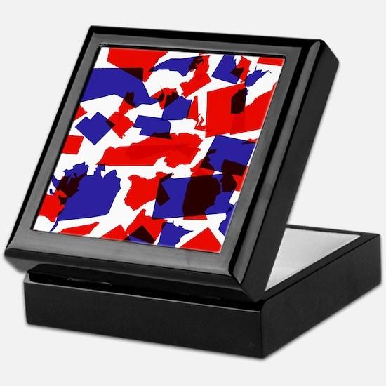 No Longer United States Keepsake Box