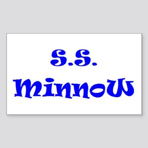 ss minnow Sticker (Rectangle)