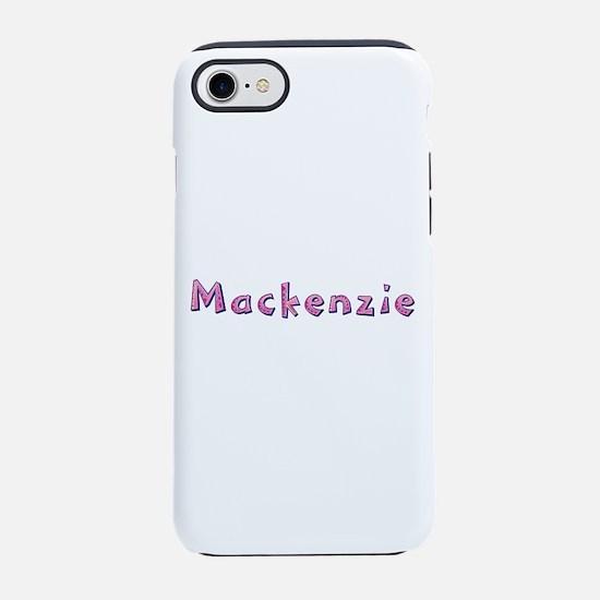 Mackenzie Pink Giraffe iPhone 7 Tough Case
