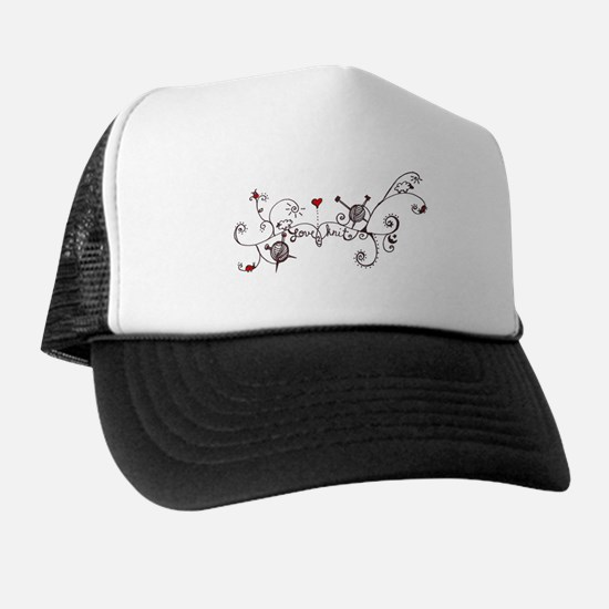 Unique Yarnaholic Trucker Hat