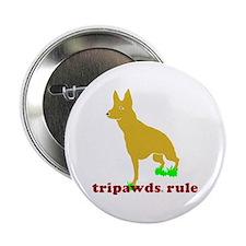 "Tripawds Rule Front Leg GSD 2.25"" Button"