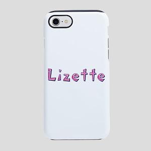 Lizette Pink Giraffe iPhone 7 Tough Case