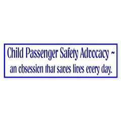 an obsession that saves lives ... (bumper sticker)