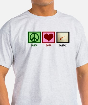 Peace Love Dexter T-Shirt