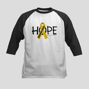Childhood Cancer Hope Kids Baseball Jersey