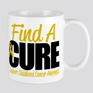 Childhood Cancer Find A Cure Mug