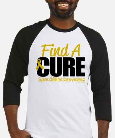 Childhood Cancer Find A Cure Baseball Jersey