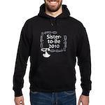 Sister-to-Be 2010 Hoodie (dark)