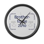 Brother-to-Be 2010 Large Wall Clock