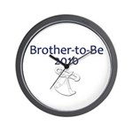Brother-to-Be 2010 Wall Clock