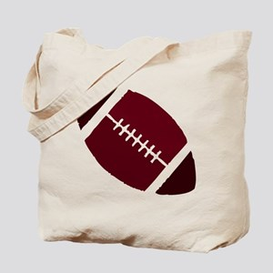 FOOTBALL *1* {crimson 2} Tote Bag