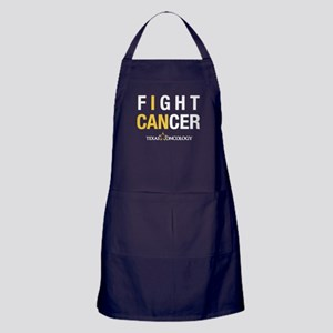 I Can Fight Cancer Apron (dark)