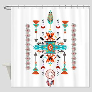 Native design Shower Curtain