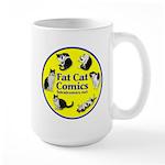 Circle 'o' Cats Large Mug