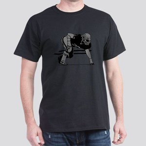 FOOTBALL *6* {gray} Dark T-Shirt