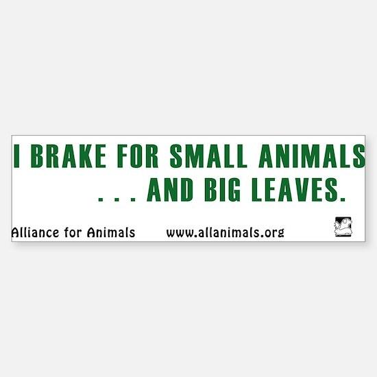 I brake Bumper Car Car Sticker