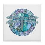 Cool Celtic Dragonfly Tile Coaster
