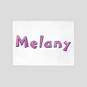 Melany Pink Giraffe 5'x7' Area Rug