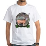 bow hunter, trophy buck White T-Shirt