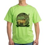 bow hunter, trophy buck Green T-Shirt