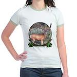 bow hunter, trophy buck Jr. Ringer T-Shirt