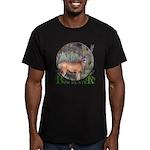 bow hunter, trophy buck Men's Fitted T-Shirt (dark