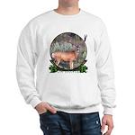 bow hunter, trophy buck Sweatshirt
