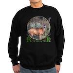 bow hunter, trophy buck Sweatshirt (dark)