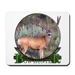 bow hunter, trophy buck Mousepad