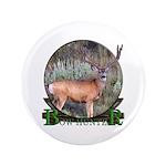 "bow hunter, trophy buck 3.5"" Button (100 pack"