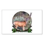 bow hunter, trophy buck Sticker (Rectangle 50 pk)