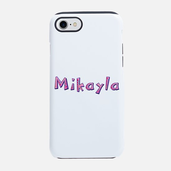 Mikayla Pink Giraffe iPhone 7 Tough Case