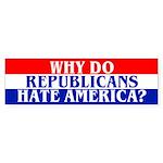 WHY? Bumper Sticker