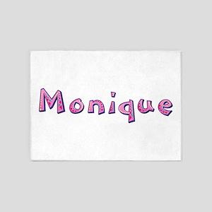 Monique Pink Giraffe 5'x7' Area Rug