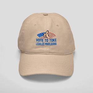 Funny Legalize Marijuana Cap
