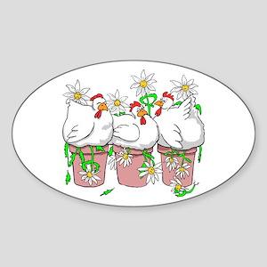 Chicken In Every Pot Sticker (Oval)