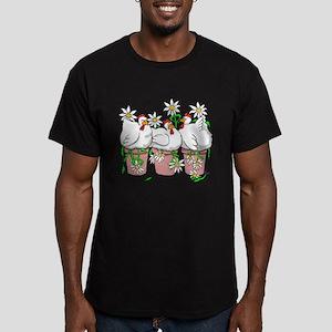 Chicken In Every Pot Men's Fitted T-Shirt (dark)