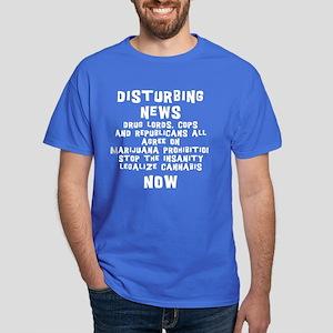 Stop Marijuana Prohibition Dark T-Shirt