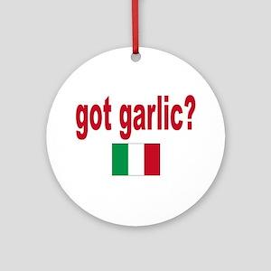got garlic? Ornament (Round)