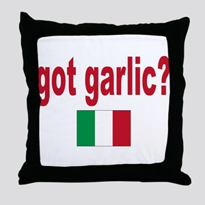got garlic? Throw Pillow