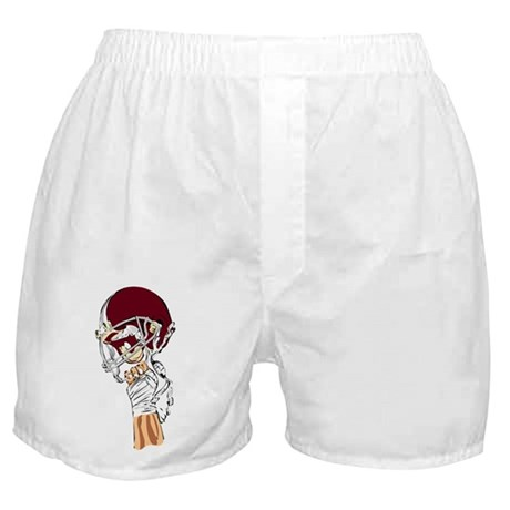 FOOTBALL *13* {crimson} Boxer Shorts