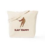 Red Slap Happy Tote Bag