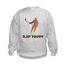 Red Slap Happy Kids Sweatshirt