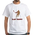 Red Slap Happy White T-Shirt