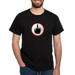 Middle Finger Dark T-Shirt
