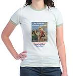 """""""Gift of Democracy"""" Jr. Ringer T-Shirt"""