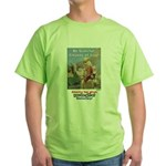 """Gift of Democracy"" Green T-Shirt"